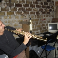 Franck and his sax