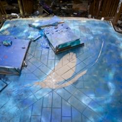 Abandoned swimming pool in Berlin