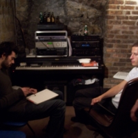 """Alexis """"Cro-Cro"""" and Le Baron working on the musical arrangements"""