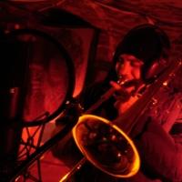 Manouk on the trombone